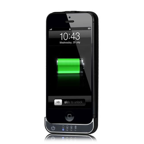 battery charging case for iphone 5 case papa. Black Bedroom Furniture Sets. Home Design Ideas