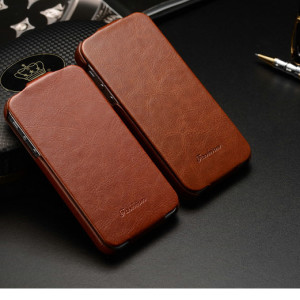 the latest 86742 c7131 Leather Flip Cover Case for iPhone 4 / 5