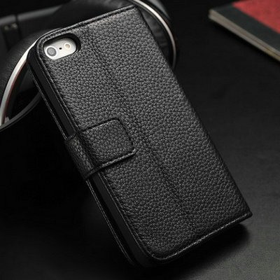 online retailer e2846 f283f Premium Leather Wallet Case for iPhone 4/4S