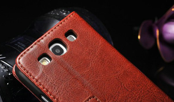 new style d4805 82a50 Leather Wallet Case for Samsung Galaxy S3